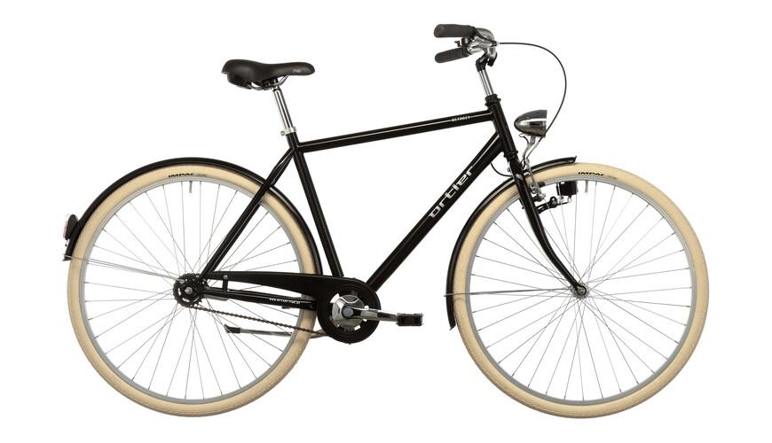Ortler Detroit Limited Miehet kaupunkipyörä , musta